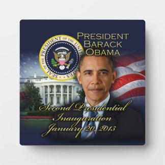 President Obama 2nd Inauguration Photo Plaque