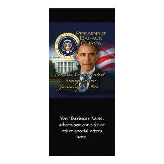 President Obama 2nd Inauguration Rack Card Design