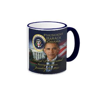 President Obama 2nd Inauguration Ringer Mug