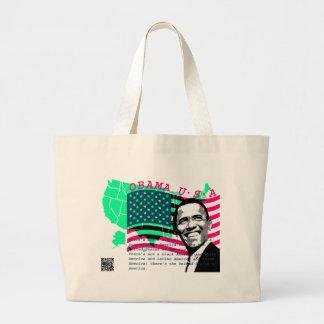 President Obama 3 Large Tote Bag