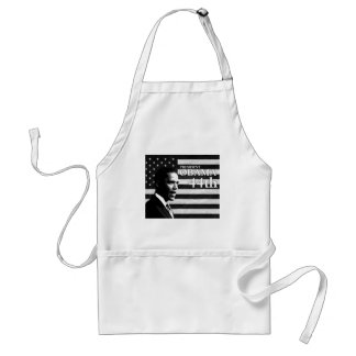 president Obama 44 gs Adult Apron