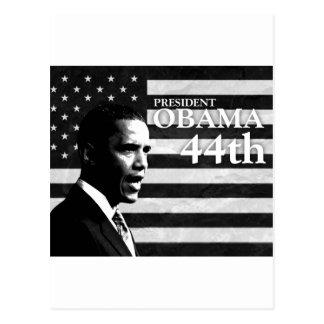 president Obama 44 gs Postcard