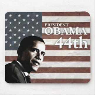 president Obama 44th c1 Mouse Pad