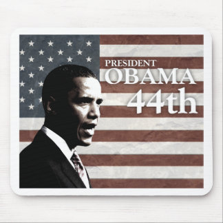 president Obama 44th - c Mouse Pad