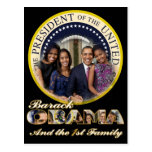 PRESIDENT OBAMA America's First Family Post Cards