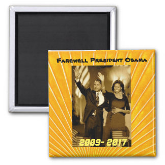 President Obama and First Lady Michelle Obama Magnet