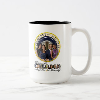 President Obama and the First Family Mugs