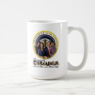President Obama and the First Family Mug