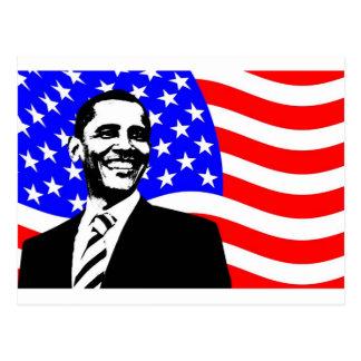 President Obama Attire Postcard