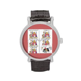 President Obama & Bo Funny Watch Wrist Watches