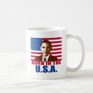 President Obama Born in the USA Products Classic White Coffee Mug