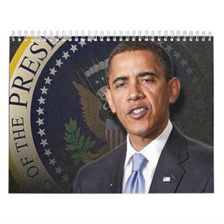 President Obama Calander Calendar