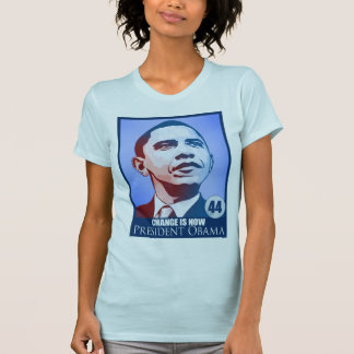 President Obama, Change is Now T-Shirt