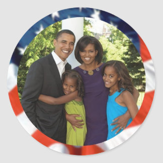 President Obama Collectibles Classic Round Sticker