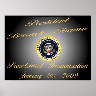 """President Obama Commemorative 40""""x30""""  Poster"""