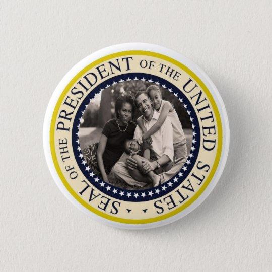President Obama Commemorative Button
