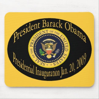 President Obama Commemorative Inau - Customized Mouse Pads