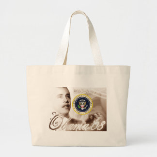 President Obama  Commemorative Inauguration Gifts Large Tote Bag