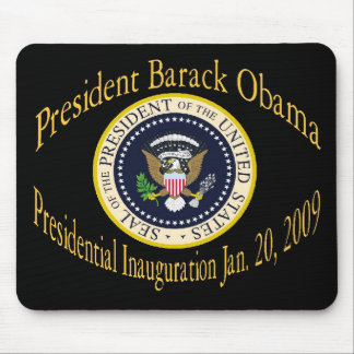 President Obama Commemorative Inauguration Mouse Pad