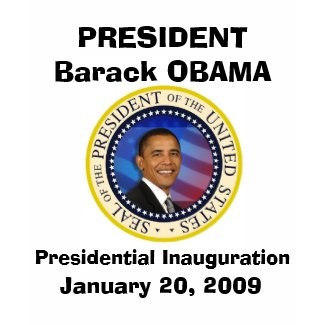 President Obama Commemorative Inauguration shirt
