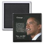 President Obama Commemorative Magnet