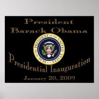 President Obama Commemorative  Poster