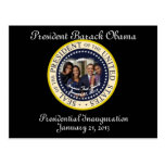 PRESIDENT OBAMA FAMILY 2013 Inauguration Postcards