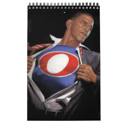 President Obama & Family Pictures Calendar