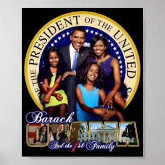 President Obama Family Poster