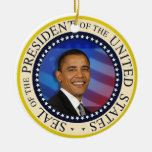 President Obama First Family January 21, 2013 Christmas Ornaments