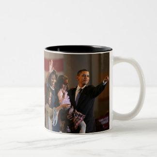 President Obama First Family Keepsake Two-Tone Coffee Mug
