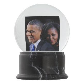 President Obama & First Lady Michelle Snow Globe