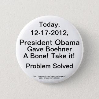 President Obama Gave Boehner a Bone 12-17, Take IT Button