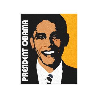 President Obama Graphic Canvas Print