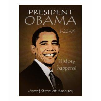 President Obama Grunge Tattered T-shirt shirt