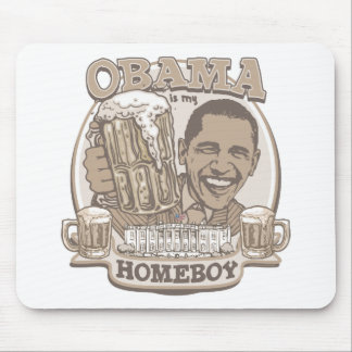 President Obama Homeboy Beer Gifts Mouse Pad