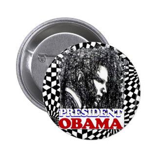 President Obama in 2012 Pinback Button
