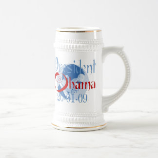 President Obama Inauguration Beer Stein