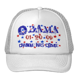 President Obama Inauguration Cap - Customized Trucker Hat