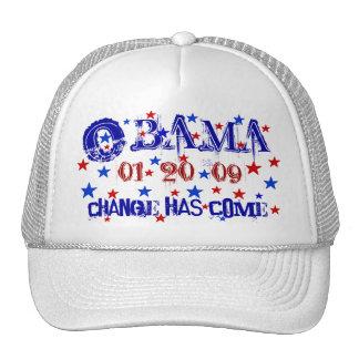 President Obama Inauguration Cap - Customized Trucker Hat