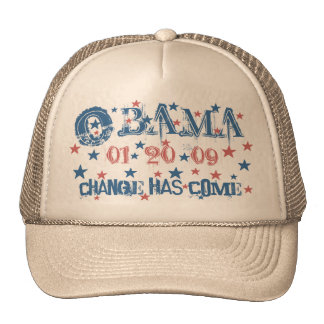 President Obama Inauguration Cap Trucker Hat