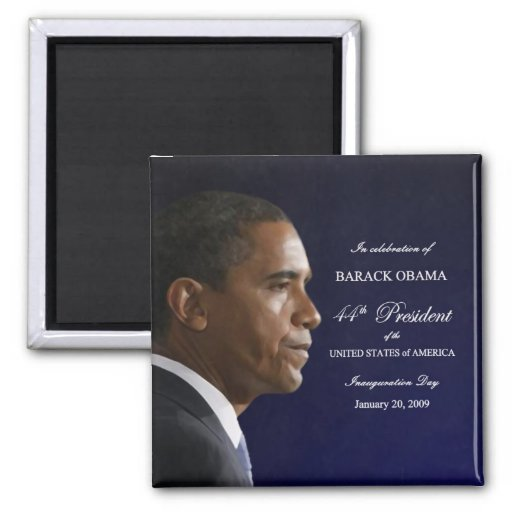 President Obama Inauguration Celebration Magnet