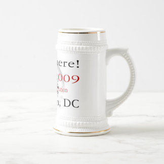 PRESIDENT OBAMA Inauguration Commemorative Beer Stein