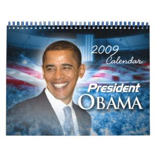 PRESIDENT OBAMA Inauguration Commemorative Calendar
