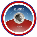 PRESIDENT OBAMA Inauguration Commemorative Standing Photo Sculpture