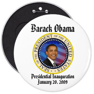 PRESIDENT OBAMA Inauguration Commemorative Pinback Button