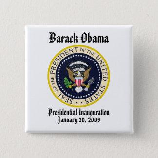 PRESIDENT OBAMA Inauguration Commemorative Pinback Button