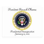 PRESIDENT OBAMA Inauguration Commemorative Post Cards