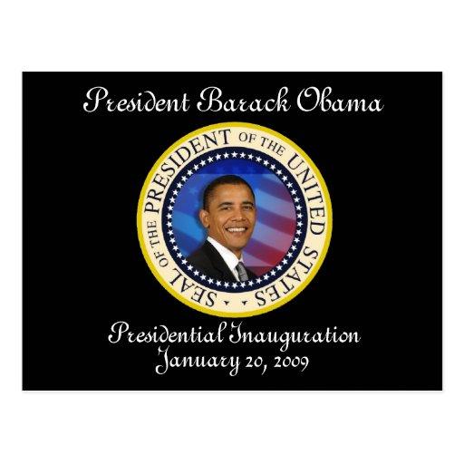 PRESIDENT OBAMA Inauguration Commemorative Postcards