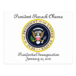 PRESIDENT OBAMA Inauguration Commemorative Post Cards